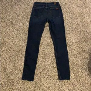 Seven for all mankind skinny jeans.  EUC